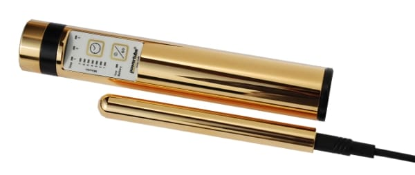 Die PowerTube in Goldlegierung